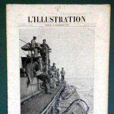 Militaria: L' ILLUSTRATION Nº 3786 DEL 25 DE SEPTIEMBRE DE 1915. PRIMERA GUERRA MUNDIAL. Lote 288378753