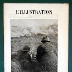 Militaria: L' ILLUSTRATION Nº 3926 DEL 1 DE JUNIO DE 1918. PRIMERA GUERRA MUNDIAL. Lote 288379368