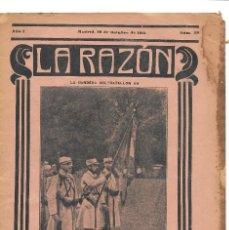 Militaria: 1ª GUERRA MUNDIAL. LA RAZÓN. REVISTA ALIADÓFILA DE 1915. Nº 39. Lote 292951023