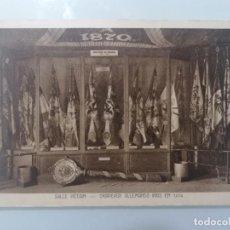 Militaria: POSTAL, HABITACIÓN PETAIN, BANDERAS ALEMANAS TOMADAS EN 1914. Lote 295279333