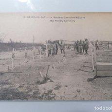 Militaria: POSTAL BERRY-AU-BAC, EL NUEVO CEMENTERIO MILITAR. Lote 295288813