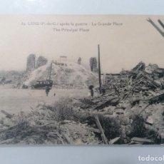 Militaria: POSTAL LENS DE LA POSGUERRA, EL GRAN LUGAR. Lote 295290473