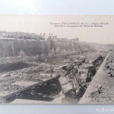 Militaria: POSTAL, RUINAS DE VIOLAINES, GUERRA 1914-18, MUELLE DE LA EMPRESA DE MINAS DE BETHUNE. Lote 295292163