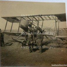 Militaria: FOTOGRAFÍA ORIGINAL. 1ª GUERRA MUNDIAL. AVIADOR ALEMÁN (5,5 X 5,5 CM). Lote 295358803