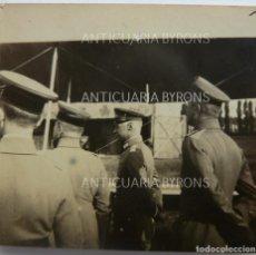 Militaria: FOTOGRAFÍA ORIGINAL. 1ª GUERRA MUNDIAL. OFICIALES ALEMANES (5,5 X 5 CM). Lote 295514323