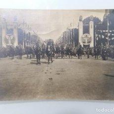 Militaria: POSTAL, DESFILE DE LA VICTORIA, CAMPOS ELISEOS, PARIS 1919. Lote 295515638