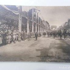 Militaria: POSTAL, DESFILE DE LA VICTORIA, CAMPOS ELISEOS, PARIS 1919. Lote 295518563