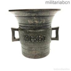 Militaria: ALEMANIA. MORTERO O ALMIREZ PARA RECOGER DONACIONES DE GUERRA 1914-1917. 1ª GUERRA MUNDIAL. HIERRO. Lote 295697888