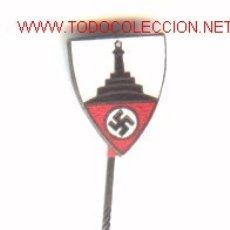 Militaria: INSIGNIA ALEMANA MONUMENTO A LOS CAIDOS .2º GUERRA MUNDIAL.. Lote 1925083