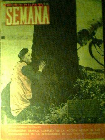 SEMANA Nº 15. 4 DE JUNIO 1940. EN PORTADA MUJER ATERRORIZADA POR LA GUERRA (Militar - II Guerra Mundial)