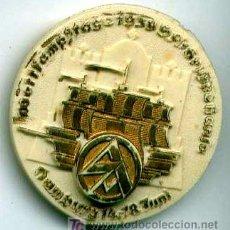 Militaria: ALEMANIA III REICH. INSIGNIA DE LAS SA DE HAMBURGO 1939 PLÁSTICO . Lote 4092664