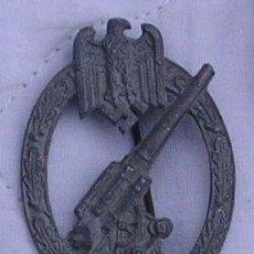 Militaria: ALEMANIA, IIGM: DISTINTIVO DE ANTIAÉREOS DEL EJÉRCITO DE TIERRA. ZINC. RFEB07. Lote 27095458