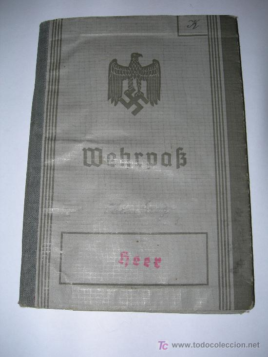 WEHRPAB(08). (Militar - II Guerra Mundial)