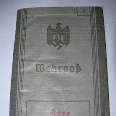 Militaria: WEHRPAB(08).. Lote 26392932