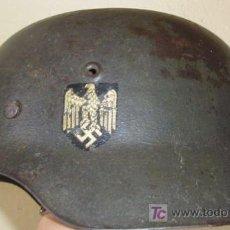 Militaria: CASCO WEHRMACHT M-42, IIGM. UNA CALCA. COMPLETO, CON SU INTERIOR. BUENA CONSERVACIÓN. RNOV07.56H. Lote 23519938