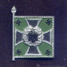 Militaria: WINTERHILFWERK. COLECCION DE BANDERAS Y ESTANDARTES DEL EJERCITO ALEMAN. JÄGERS. Lote 26420820