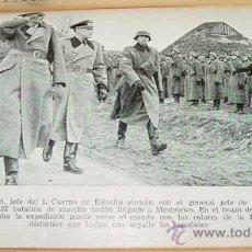 Militaria: ANTIGUO LIBRO DE LA DIVISION AZUL - DONDE ASIA EMPIEZA - POR ESTEBAN-INFANTES, EMILIO - EDITORIAL A. Lote 27526264