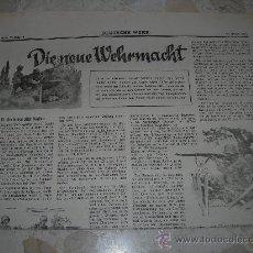 Militaria: DIE NEUE WEHRMACHT 29-01-1938( 01). Lote 27523207