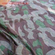 Militaria: PONCHO DE CAMUFLAJE WEHRMACHT, IIGM.. Lote 130286307
