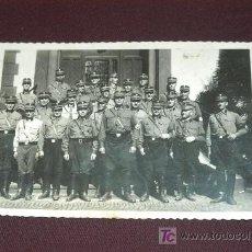 Militaria: FOTOGRAFIA EN FORMATO POSTAL DE MIEMBROS DE LAS S.A.. TERCER REICH. EPOCA .ORIGINAL. Lote 26799968
