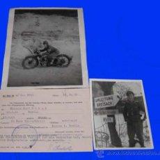 Militaria: 5 DOCUMENTOS Y 2 FOTOS ALEMANIA SEGUNDA GUERRA MUNDIAL 1939-45,PANZER-AUFKLÄRUNGS ABTEILUNG.. Lote 10233453