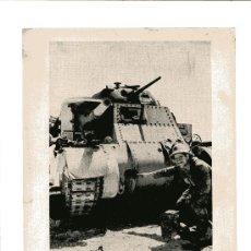 Militaria: LAMINA DE LA II GUERRA MUNDIAL UNA BATERIA EN EL NORTE DE AFRICA. Lote 13055063