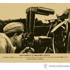 Militaria: LAMINA DE LA II GUERRA MUNDIAL 18X24 NUEVO DESTINO DE UN TANQUE SOVIETICO DESTRUIDO. Lote 13062160