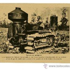 Militaria: LAMINA DE LA II GUERRA MUNDIAL 18X24 TRACTORES CON CON GASOGENOS. Lote 13062309