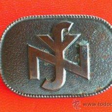 Militaria: BROCHE EN BRONCE NATIONALSOZIALISTISCHE VOLKSWOHLFAHRT ( NSV ) ALEMANIA 1938-45.. Lote 13822698