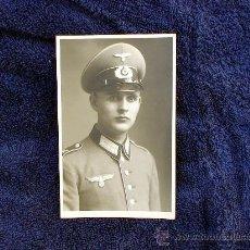 Militaria: FOTO DE UN OFICIAL DE LA WEHMRMACHT. ORIGINAL DE ÉPOCA TERCER REICH. Lote 26699109