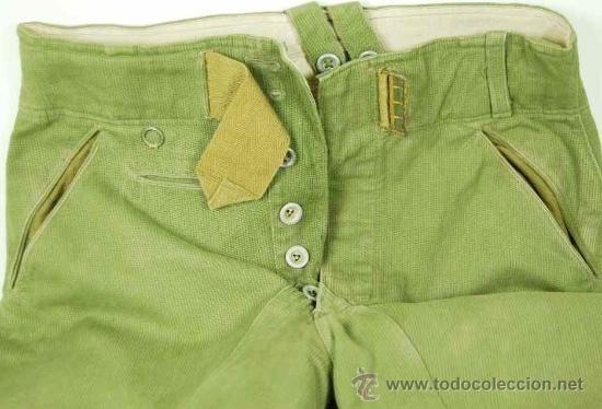 Militaria: Pantalones Tropicales del 2º Modelo para el Afrikakorps - Foto 3 - 27163368