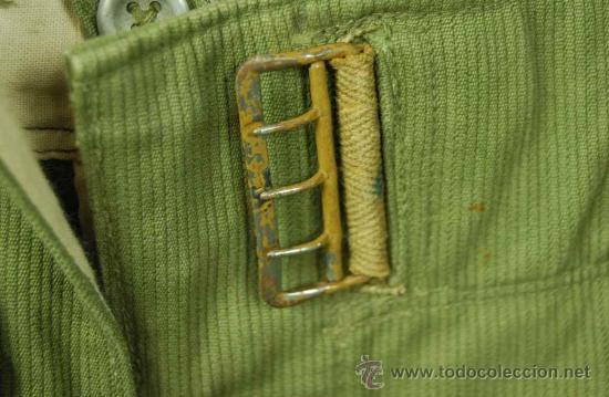 Militaria: Pantalones Tropicales del 2º Modelo para el Afrikakorps - Foto 4 - 27163368