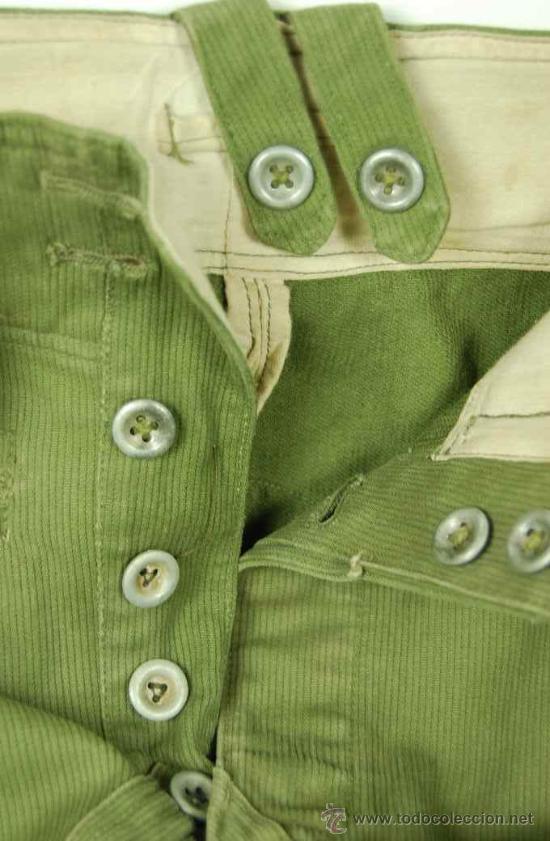 Militaria: Pantalones Tropicales del 2º Modelo para el Afrikakorps - Foto 5 - 27163368