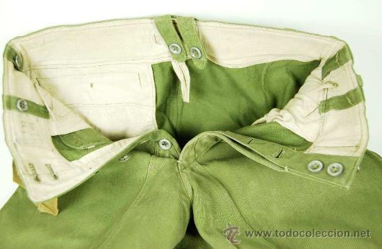 Militaria: Pantalones Tropicales del 2º Modelo para el Afrikakorps - Foto 6 - 27163368