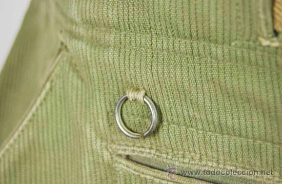 Militaria: Pantalones Tropicales del 2º Modelo para el Afrikakorps - Foto 9 - 27163368