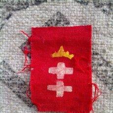 Militaria: EMBLEMA DE TELA ORIGINAL DANZIG. Lote 26318575