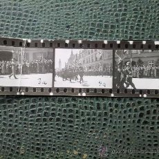 Militaria: FOTOGRAMA ORIGINAL ALEMAN ,3 IMAGENES ,DESFILE EN BERLIN,IIWW. Lote 26706826