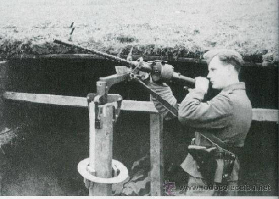 Militaria: Cargador MG 15, no MG 34. Wehrmacht Luftwaffe Kriegsmarine Guerra Civil Legion Kondor Afrika Korps - Foto 9 - 19829099