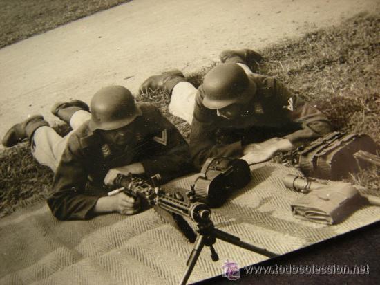 Militaria: Cargador MG 15, no MG 34. Wehrmacht Luftwaffe Kriegsmarine Guerra Civil Legion Kondor Afrika Korps - Foto 10 - 19829099
