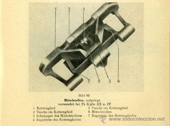 Militaria: Accesorio anti-hielo de cadena de panzer y StuG III- IV. Wehrmacht, Luftwaffe SS, 2ªGM Rusia - Foto 8 - 22338440