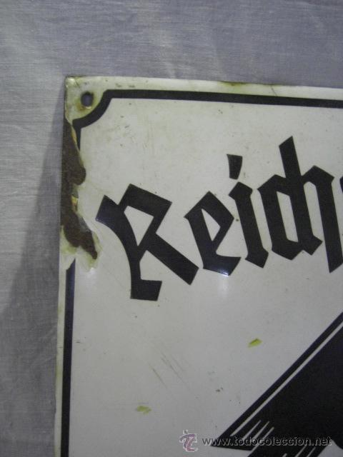 Militaria: Alemania. II guerra mundial. Placa de Reichsnährftan. Blut un boden. Orstbauernführer. - Foto 5 - 26626758