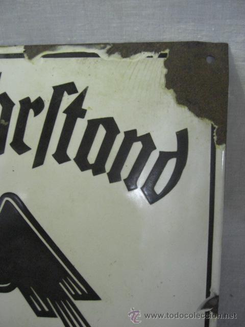 Militaria: Alemania. II guerra mundial. Placa de Reichsnährftan. Blut un boden. Orstbauernführer. - Foto 6 - 26626758