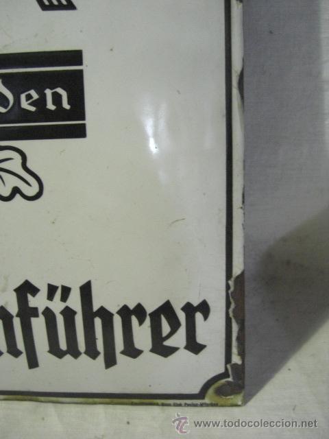 Militaria: Alemania. II guerra mundial. Placa de Reichsnährftan. Blut un boden. Orstbauernführer. - Foto 7 - 26626758