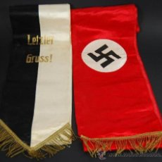 Militaria: NSDAP/ BANDAS DE FUNERAL. Lote 26911899
