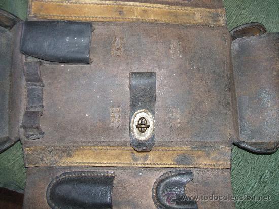 Militaria: FUNDA HERRAMIENTAS MG08/MG13 - Foto 4 - 28108344