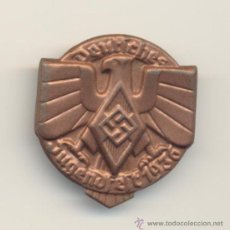 Militaria: B- ALEMANIA TERCER REICH EMBLEMA JUGENDFEST JUVENTUDES HITLERIANAS ?? 1936 A CLASIFICAR. Lote 28374102