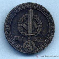 Militaria: INSIGNIA III REICH. SA. WEHRKAMPFE BAYER OSTMARK 1938. Lote 32394225