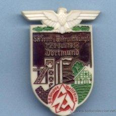 Militaria: INSIGNIA III REICH. SA SPORT WEHRWETTKÄMPFE DORTMUND. Lote 32394647