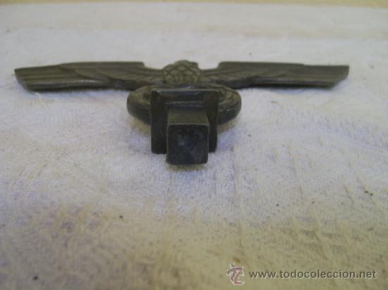 Militaria: Punta o parte de un porta estandartes. Alemania. III Reich. Original. Metálico. - Foto 6 - 34222063