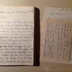 Militaria: 69 CARTAS. CORRESPONDENCIA ENTRE UN SOLDADO ALEMÁN Y SU MUJER ENVIADAS DESDE EL FRENTE RUSO. 1941-45. Lote 34281597